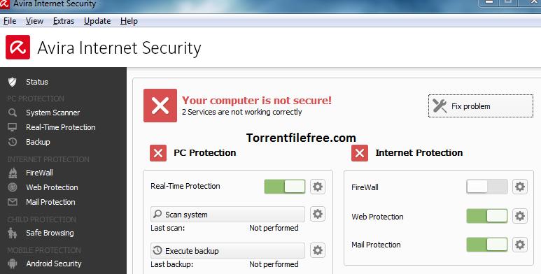 Avira Internet Security Suite Key